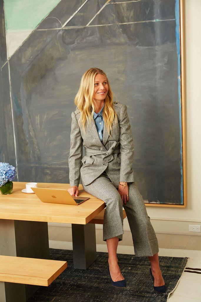 Gwyneth Paltrow se estrena como diseñadora
