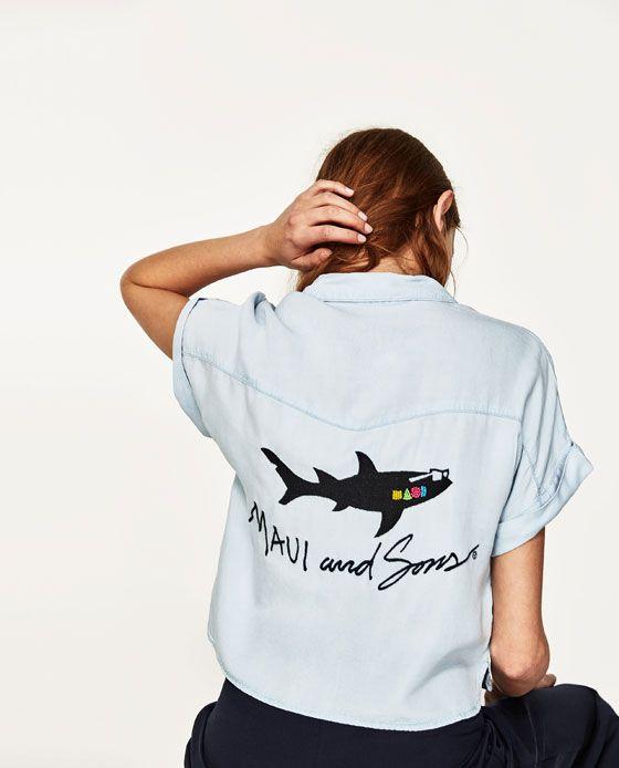 Zara colabora con la firma Maui and Sons