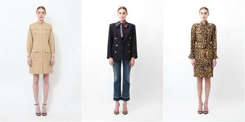 Clothing, Collar, Sleeve, Dress shirt, Shoulder, Pattern, Textile, Standing, Joint, Formal wear,