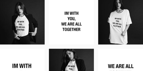 White, Black, Clothing, T-shirt, Product, Text, Black-and-white, Font, Outerwear, Sleeve,