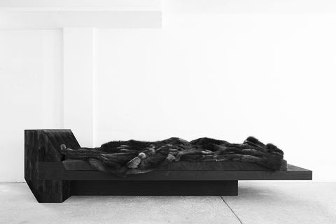 Black, Grey, Black-and-white, Natural material, Living room, studio couch,