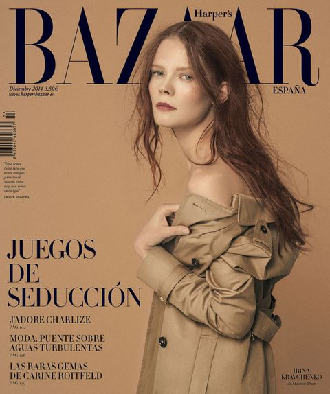 Human, Lip, Hairstyle, Sleeve, Human body, Publication, Fashion model, Overcoat, Fashion, Eyelash,