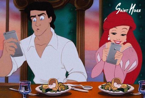 Y si las princesas de Disney tuvieran Instagram?