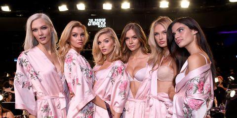 Clothing, Fashion, Event, Beauty, Pink, Fashion show, Fashion design, Fashion model, Model, Nightwear,