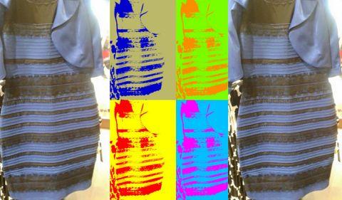 Negro Y Azul O Blanco Y Dorado El Vestido Que Se Convirtió