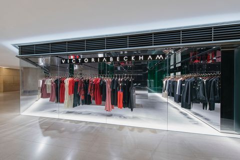 Clothes hanger, Floor, Outlet store, Boutique, Fashion design, Collection, Retail,
