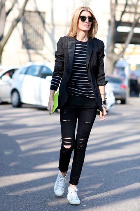 Clothing, Eyewear, Sleeve, Sunglasses, Textile, Joint, Outerwear, White, Street fashion, Style,