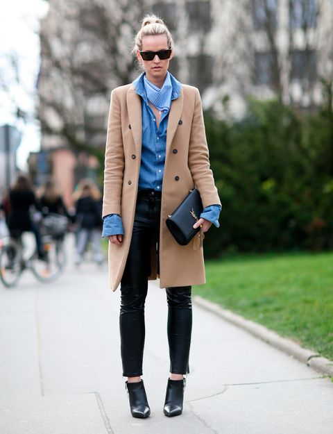 Clothing, Collar, Coat, Textile, Sunglasses, Outerwear, Style, Street fashion, Fashion accessory, Blazer,