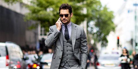 Clothing, Collar, Road, Dress shirt, Coat, Infrastructure, Shirt, Outerwear, Street, Formal wear,