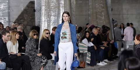 Leg, Fashion show, Outerwear, Style, Street fashion, Runway, Winter, Fashion model, Fashion, Spring,