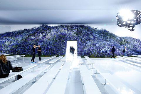 Runway, Painting, Digital compositing,