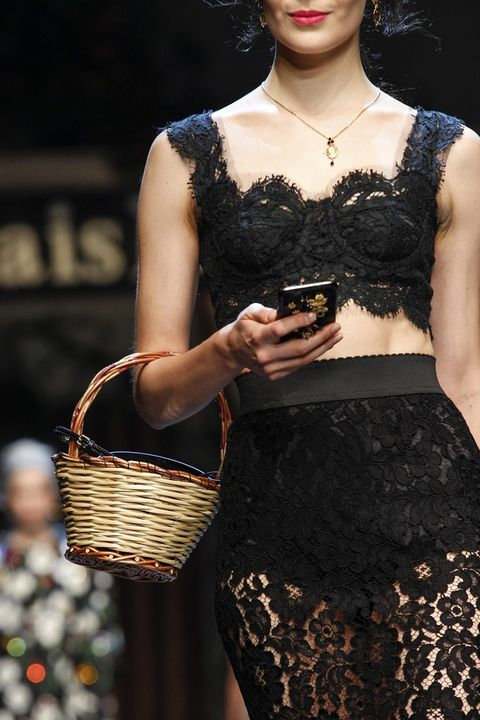 Clothing, Waist, Fashion accessory, Dress, Fashion, Trunk, Body jewelry, Jewellery, Basket, Fashion model,