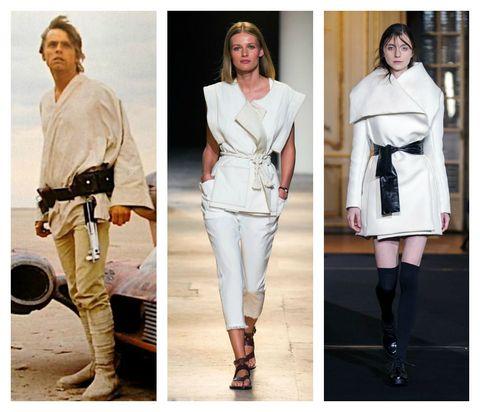White, Clothing, Shoulder, Fashion, Footwear, Joint, Fashion model, Belt, Beige, Dress,