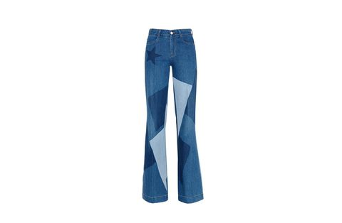 Clothing, Blue, Denim, Trousers, Jeans, Textile, Pocket, Standing, Style, Electric blue,