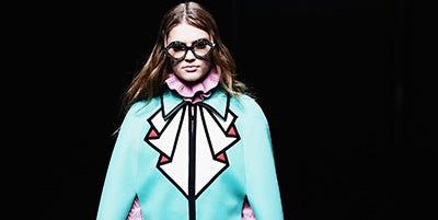 Sleeve, Costume design, Fashion model, Turquoise, Teal, Street fashion, Aqua, Sunglasses, Fashion design, Costume,