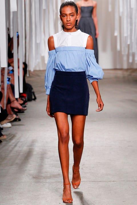 Clothing, Human leg, Shoulder, Joint, Style, Waist, Knee, Street fashion, Orange, Fashion model,