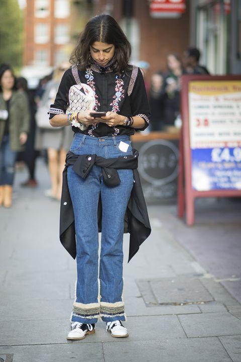 Leg, Trousers, Denim, Jeans, Textile, Outerwear, Bag, Style, Street fashion, Fashion,