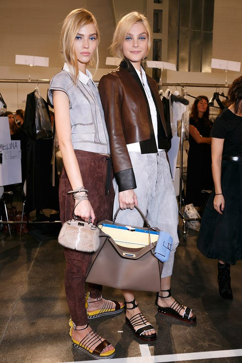 Clothing, Trousers, Outerwear, Bag, Style, Collar, Fashion accessory, Luggage and bags, Fashion, Blond,