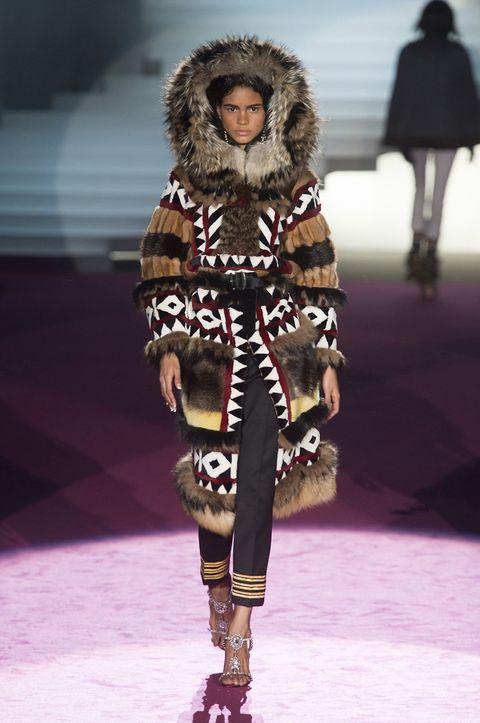 Human, Leg, Skin, Winter, Textile, Joint, Fashion show, Style, Fashion model, Runway,
