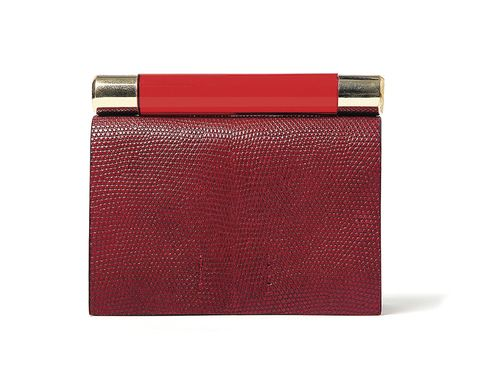 Brown, Red, Maroon, Carmine, Rectangle, Coquelicot, Material property, Leather, Wallet, Square,