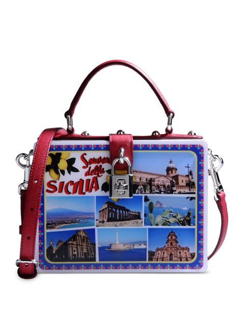 Bag, Red, Luggage and bags, Shoulder bag, Rectangle, Material property, Baggage, Coquelicot, Strap,