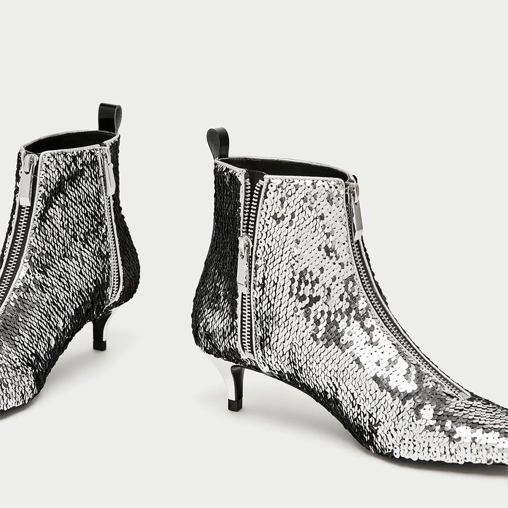 Te De Que Cualquier Brillar Zapatos En Fiesta Zara Harán Los lcTK31J5uF