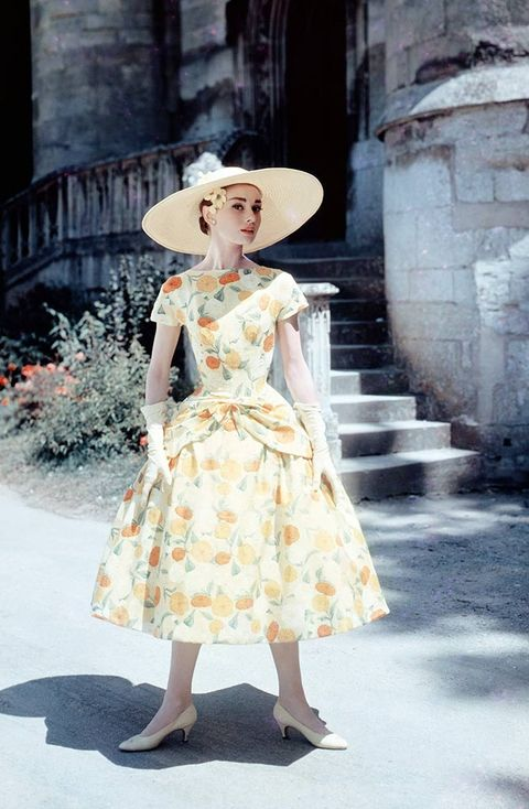 Clothing, Hat, Dress, Shoe, Headgear, One-piece garment, Street fashion, Fashion, Day dress, Sun hat,