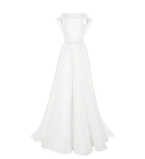 Product, Sleeve, Dress, Textile, White, Formal wear, One-piece garment, Gown, Style, Wedding dress,