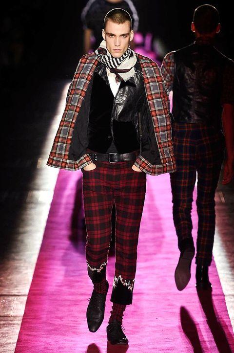 Plaid, Tartan, Textile, Pattern, Outerwear, Winter, Collar, Style, Street fashion, Fashion,