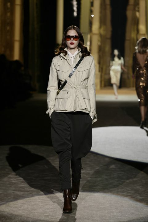 Clothing, Eyewear, Leg, Sleeve, Human body, Collar, Outerwear, White, Style, Street fashion,
