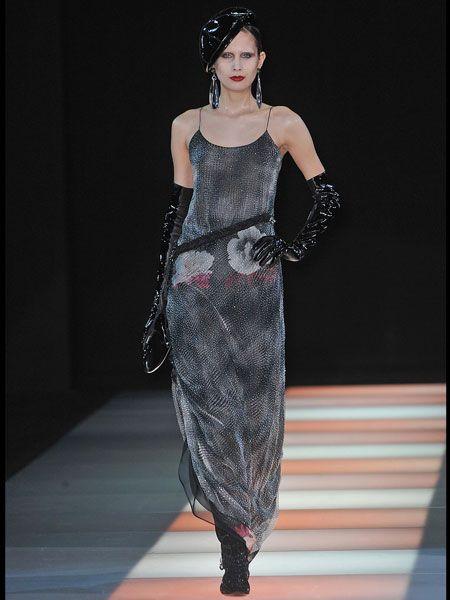 Clothing, Dress, Shoulder, Fashion show, Waist, Style, Fashion model, Fashion, Runway, Model,