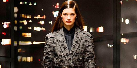Sleeve, Style, Street fashion, Fashion model, Fashion, Overcoat, Fur, Fashion design, Makeover, Fashion show,