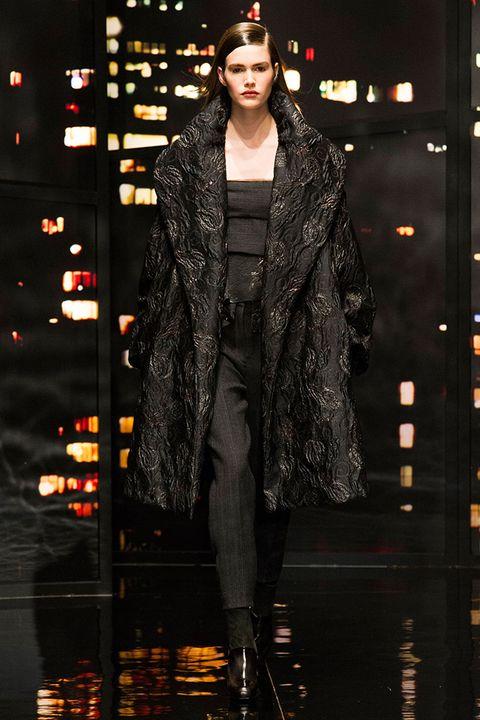 Fashion show, Fashion model, Fashion, Street fashion, Runway, Fur, Headpiece, Boot, Haute couture, Fashion design,