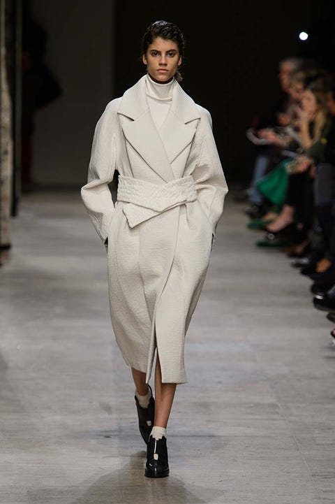 Clothing, Footwear, Fashion show, Runway, Outerwear, Fashion model, Style, Formal wear, Fashion, Model,