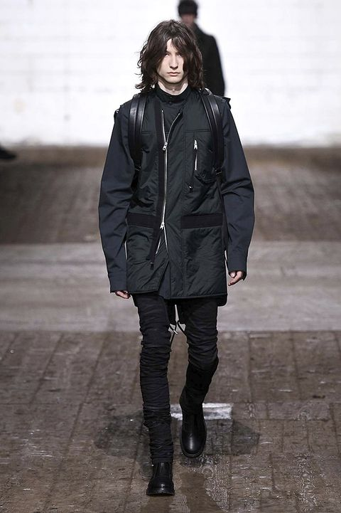 Clothing, Human, Jacket, Sleeve, Textile, Standing, Outerwear, Winter, Style, Boot,