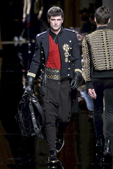 Outerwear, Style, Fashion, Street fashion, Belt, Boot, Fashion design, Tradition, Costume design, Leather,