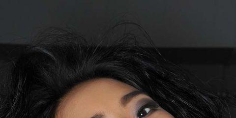 Nose, Lip, Cheek, Hairstyle, Chin, Forehead, Eyebrow, Eyelash, Black hair, Iris,