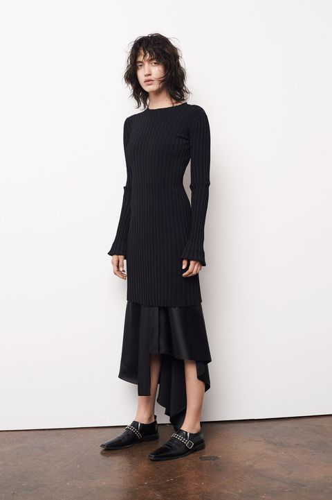 Clothing, Sleeve, Shoulder, Joint, Standing, Waist, Style, Dress, Knee, Fashion,