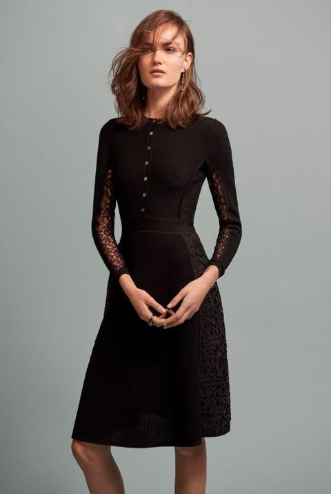 Dress, Sleeve, Shoulder, Standing, Joint, Waist, One-piece garment, Formal wear, Style, Cocktail dress,