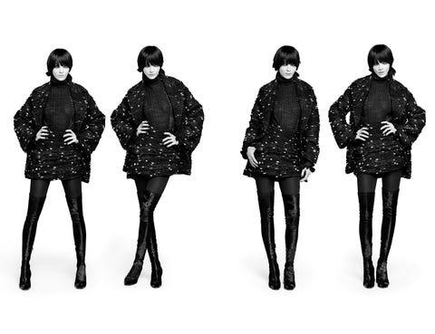 Human body, Sleeve, Shoulder, Standing, Joint, Style, Fashion illustration, Fashion, Black hair, Fashion design,