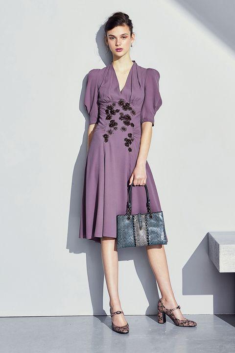 Clothing, Leg, Sleeve, Shoulder, Shoe, Human leg, Joint, Style, One-piece garment, Purple,