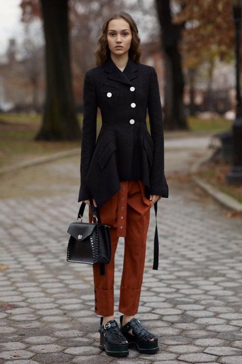 Clothing, Street fashion, Fashion, Footwear, Snapshot, Fashion model, Jeans, Outerwear, Coat, Shoe,