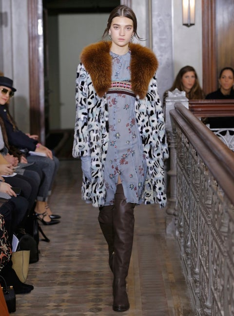 Clothing, Face, Head, Human, Leg, Trousers, Human body, Fashion show, Outerwear, Style,