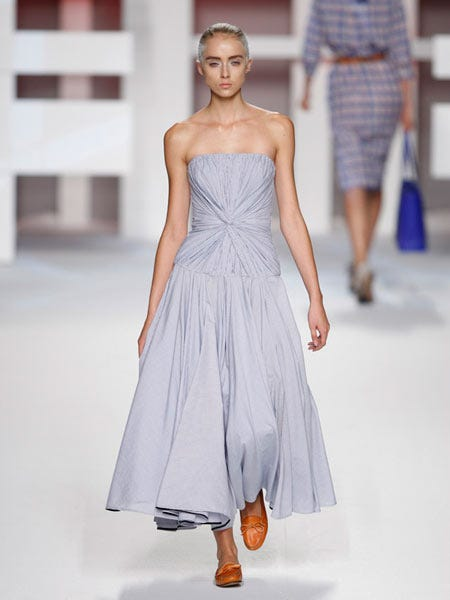 Clothing, Dress, Shoulder, Textile, Joint, Human leg, Standing, One-piece garment, Style, Formal wear,
