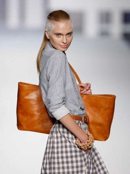 Brown, Bag, Shoulder, Textile, Style, Fashion accessory, Luggage and bags, Street fashion, Pattern, Shoulder bag,