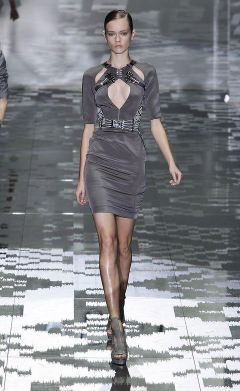 Clothing, Human, Leg, Human body, Fashion show, Shoulder, Dress, Human leg, Joint, Fashion model,