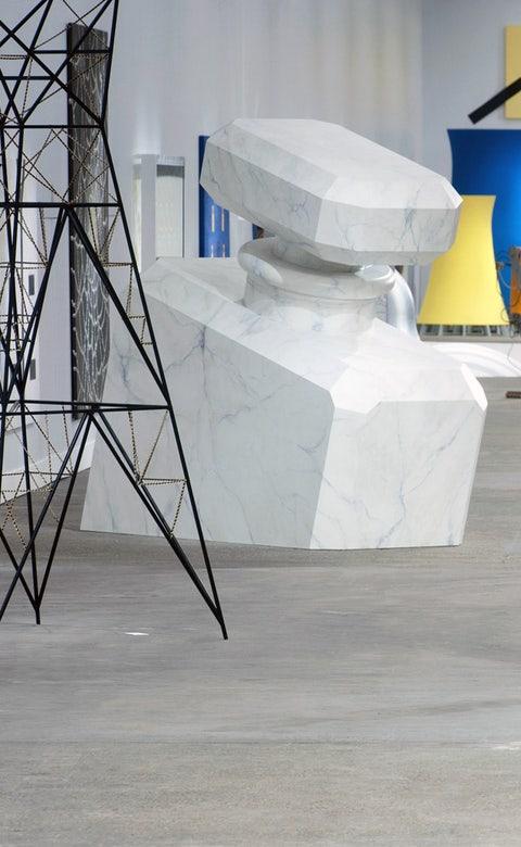 Composite material, Visual arts, Design, Triangle, Modern art,