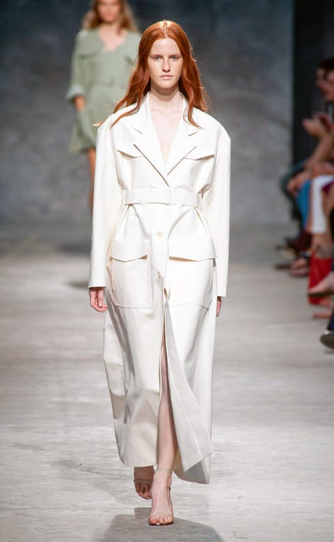 Clothing, Fashion show, Shoulder, Joint, Outerwear, Runway, Fashion model, Style, Fashion, Slipper,