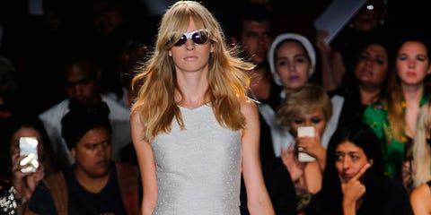 Clothing, Face, Leg, Sunglasses, Hat, Style, Fashion accessory, Thigh, Fashion, Street fashion,