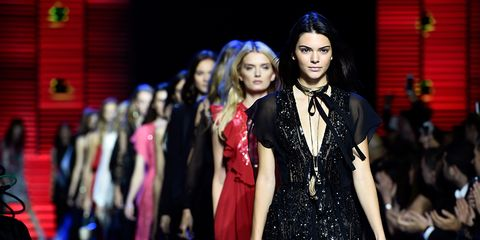 Coat, Dress, Fashion, Fashion model, Fashion show, Blazer, Lipstick, Long hair, Haute couture, Makeover,